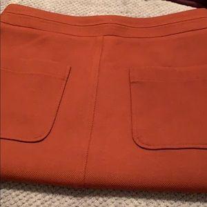 Ann Taylor | Rust colored skirt